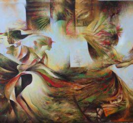 Hacia la eternidad - 2015 - 40x60 Pulgs