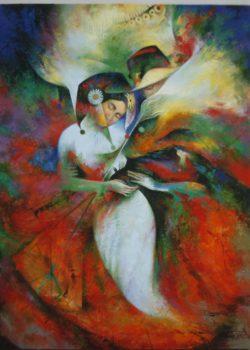 Osiris Gómez - Amantes - 2008 - 40 x 30