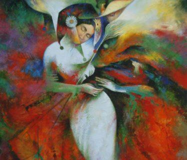 Osiris Gómez – Amantes – 2008 – 40 x 30