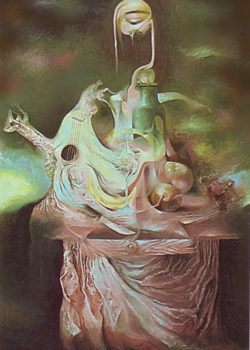 Osiris Gómez - Bodegón surrealista - 1991 - 40 x 30