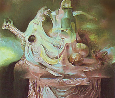 Osiris Gómez – Bodegón surrealista – 1991 – 40 x 30