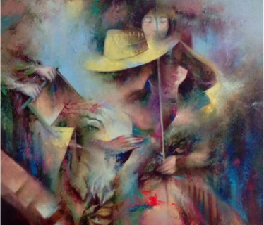 Osiris Gómez – El compromiso – oleo – 30 x 24