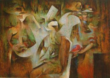 Osiris Gómez - Los noctámbulos - 2014 - 40 x 50