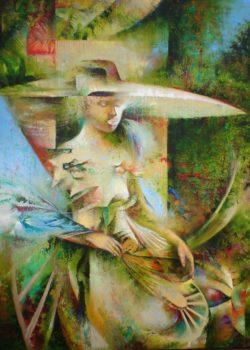 Osiris Gómez - Palabras misticas - 2014 - 30 x 40