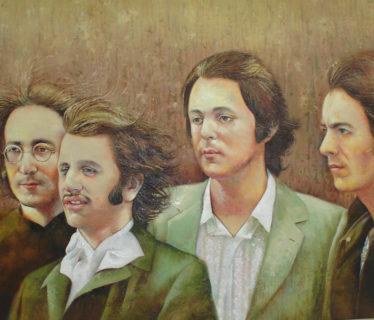Osiris Gómez – Retrato de Los Beatles