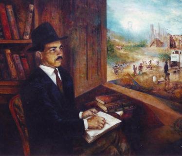 Osiris Gómez – Retrato de Pedro Henrriquez Ureña