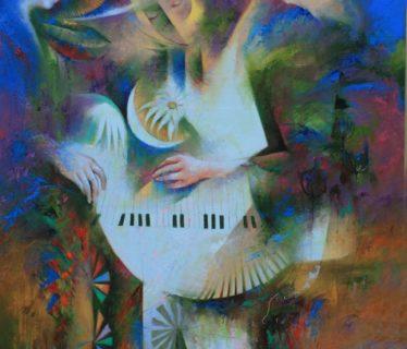 Osiris Gómez – Sembradores de estrellas – 2015 – 34 x 26