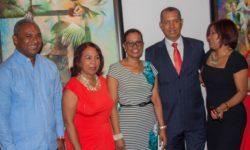 Viviano de Leon, Zoila Puello, Elvita, Osiris y mi esposa Agustina_