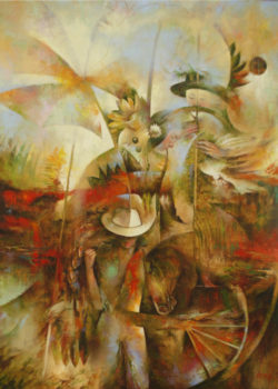 Osiris Gómez - El pescador de armonia - 2015 - 45 x 35