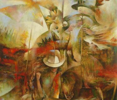 Osiris Gómez – El pescador de armonia – 2015 – 45 x 35