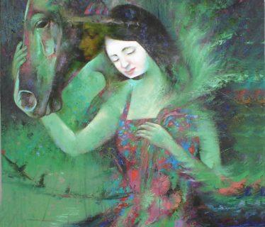 Osiris Gómez – Espiritu del que se quiere – 2004 – 30 x 24