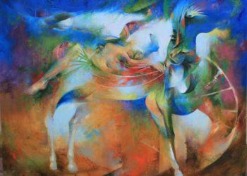 Osiris Gómez - Jinete insólito - 2015 - 35 x 45 - 2300