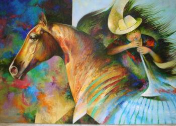 Osiris Gómez - Juanita y su caballo