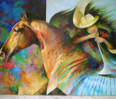 Osiris Gómez – Juanita y su caballo