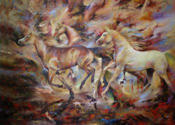 Osiris Gómez - Los caballos del cielo