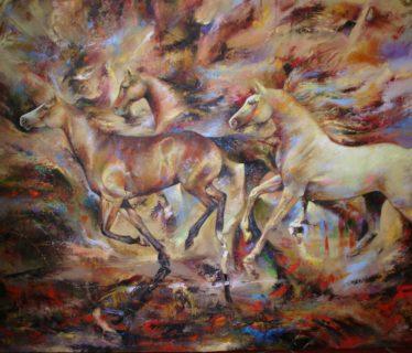 Osiris Gómez – Los caballos del cielo