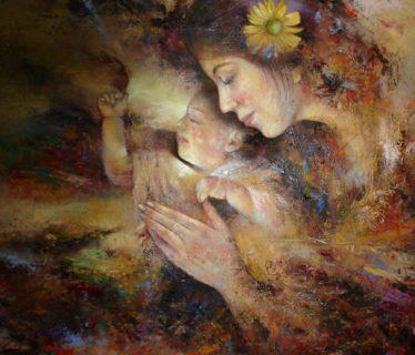 Osiris Gómez – Maternidad – 2015 – 40 x 30